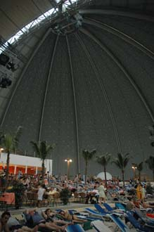 TGL Tropical Islands Resort Krausnick Brand huge dome roof 3008x2000