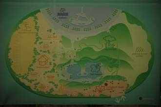 TGL Tropical Islands Resort Krausnick Brand map 3008x2000